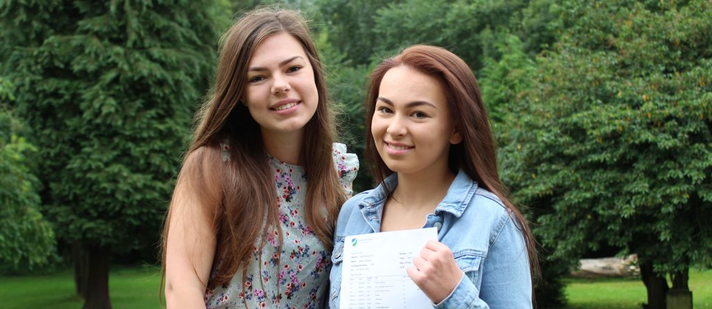 Sisters celebrate third set of straight A results
